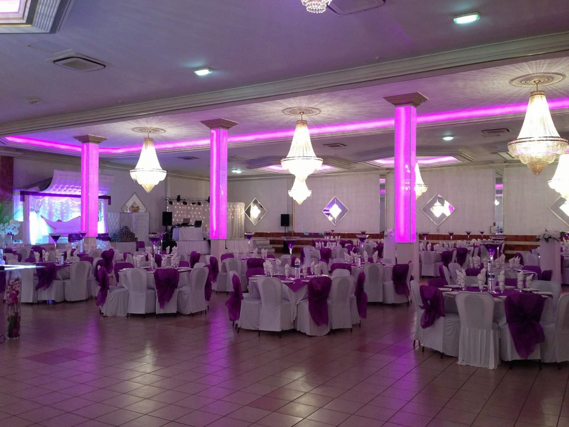 violet lilas - Salle De Mariage Ris Orangis